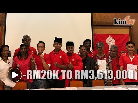 From RM3.6m to negative asset value - PSM candidates declare assets