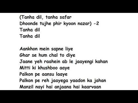 Tanha DilFull Song Lyrics | Shaan