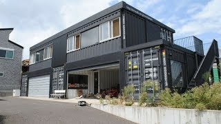 Incredible Container Garage House