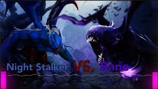 DOTA 2 Rap Battle. Night Stalker VS Bane!