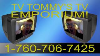TV Tommy Commercial 2: The Case of Rear Projection