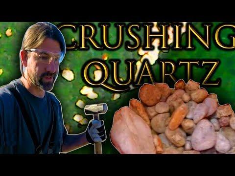 Baixar Prospecting For Gold By Crushing Quartz!?