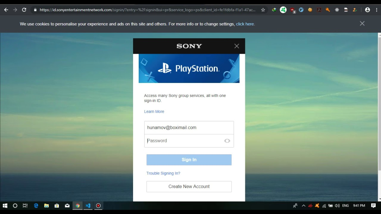 PLAYSTATION CHECKER FOR PSN ACCOUNTS 100% WORKING
