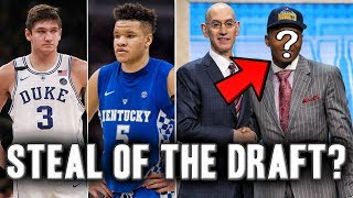 3 Players That Will Be Steals From The 2018 NBA Draft