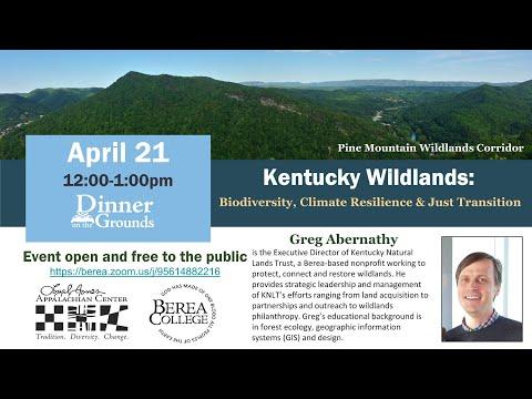 LJAC Dinner on the Grounds - Kentucky Wildlands - April 21, 2021