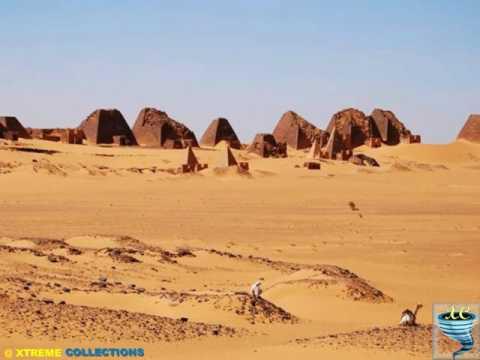 Pyramids of Nubia in North Sudan
