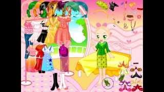 Game thời trang cho bé - Video clip trò chơi trẻ em về thời trang TroChoiThoiTrang.net