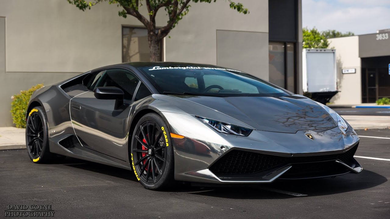 smoked chrome lamborghini huracan black chrome drivingsounds youtube - Lamborghini Huracan Matte Black