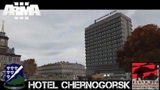 Hotel Chernogorsk - ArmA 3(We at the International Chernogorsk Hotel would like to welcome the US Army! ___ ___ Patreon: http://www.patreon.com/jester814 Facebook(I actually check ..., 2015-09-28T21:59:47.000Z)