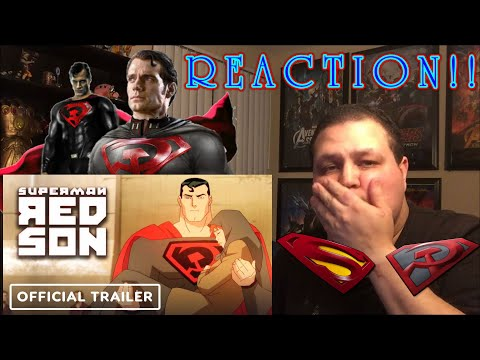 superman:-red-son---exclusive-official-trailer-(2020)-reaction!!