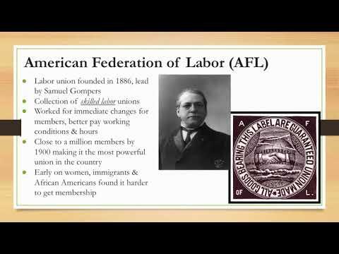 US Regents Review: Video #28: Unions