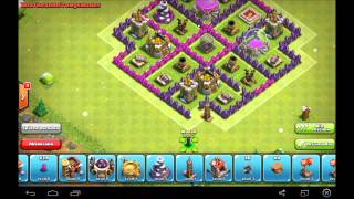Clash Of Clans - Best Town Hall 7 Farming Base - Speed Build 2014 /15