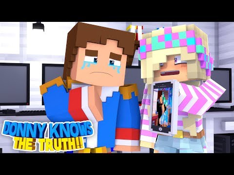 Minecraft - DONNY PLANS REVENGE ON HIS GIRLFRIEND & HER HUSBAND!!