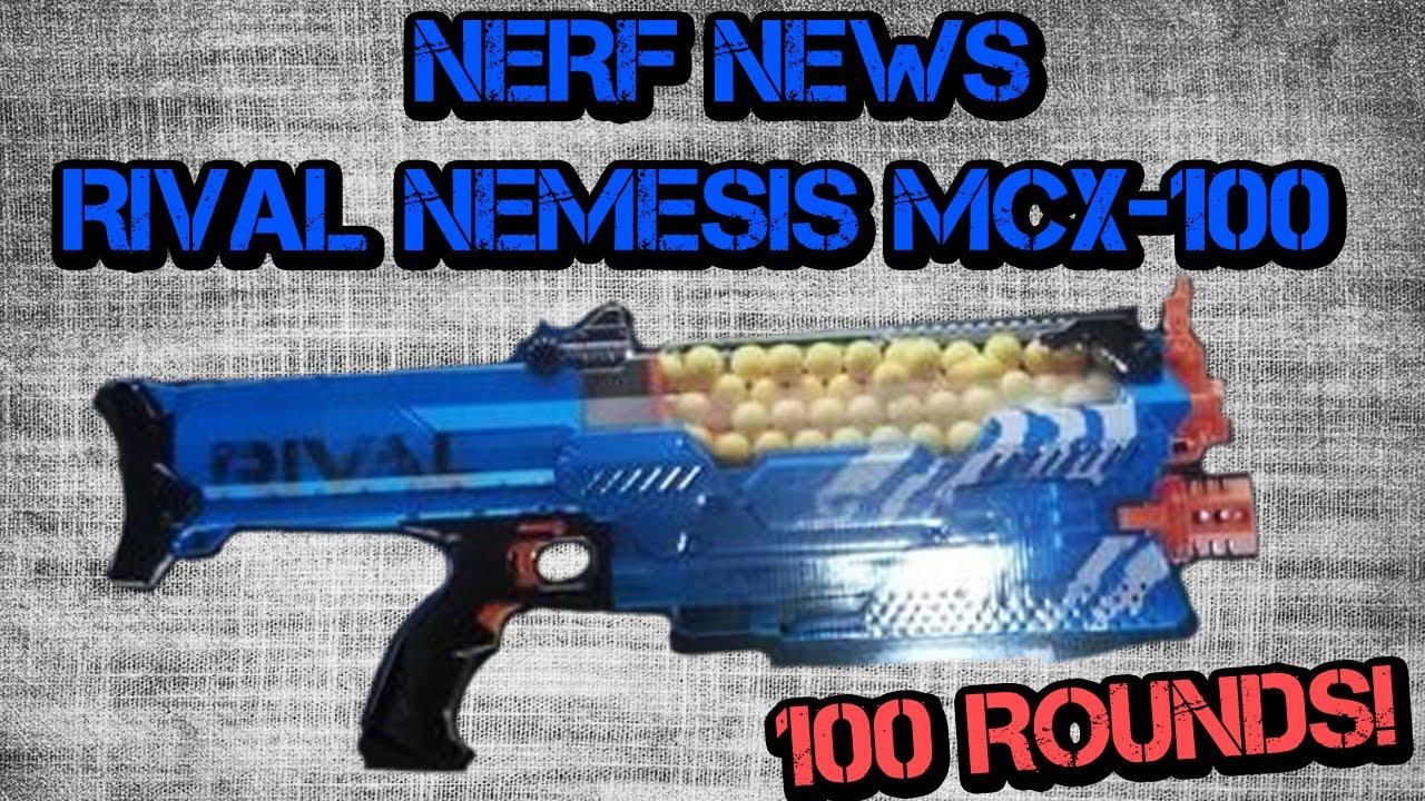 NERF NEWS: RIVAL NEMESIS LEAKED!!! - YouTube