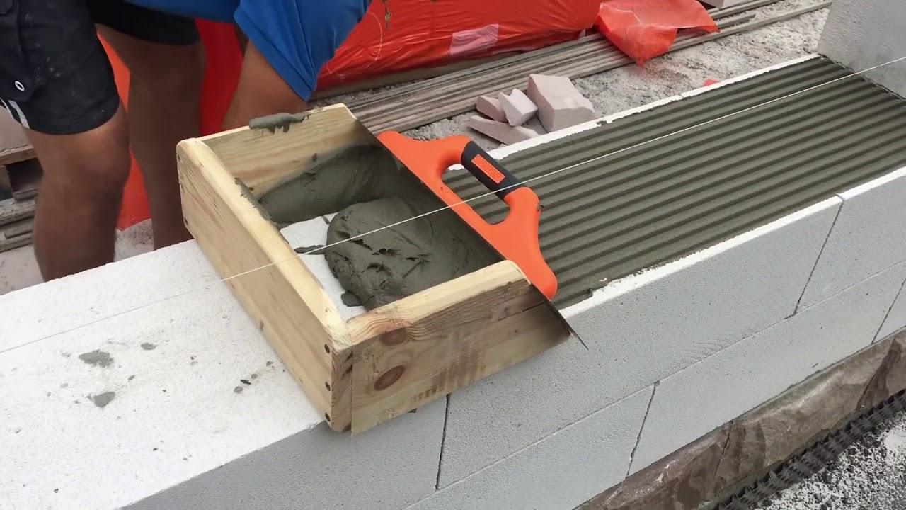 инструмент для кладки раствора