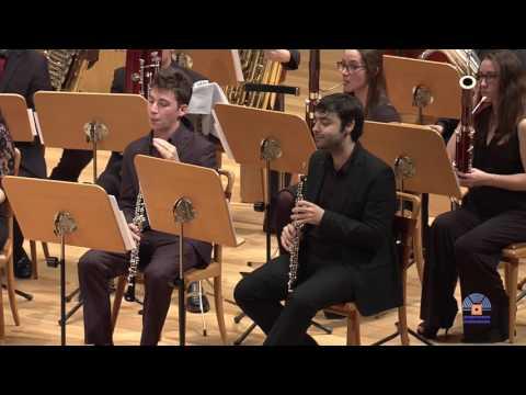 Julius Fucik: Marcha Florentina. Sinfonietta, Orquesta de viento del CSMA