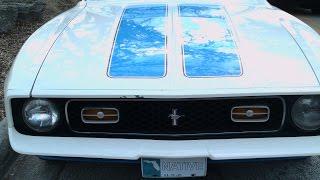 1972 Ford Mustang Sprint Sportsroof WhtBluRed NewSmyrna121016