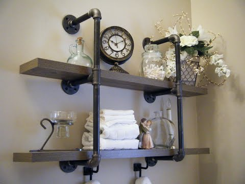 how-to-build-a-2-tier-pipe-shelf