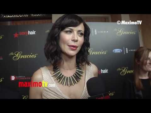 "Catherine Bell on her Worst DATE Experience at 2013 ""Gracie Awards"" Gala ARRIVALS"