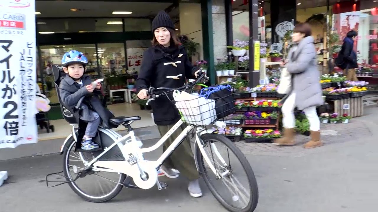 The Mamachari Japan S City Bicycle Youtube
