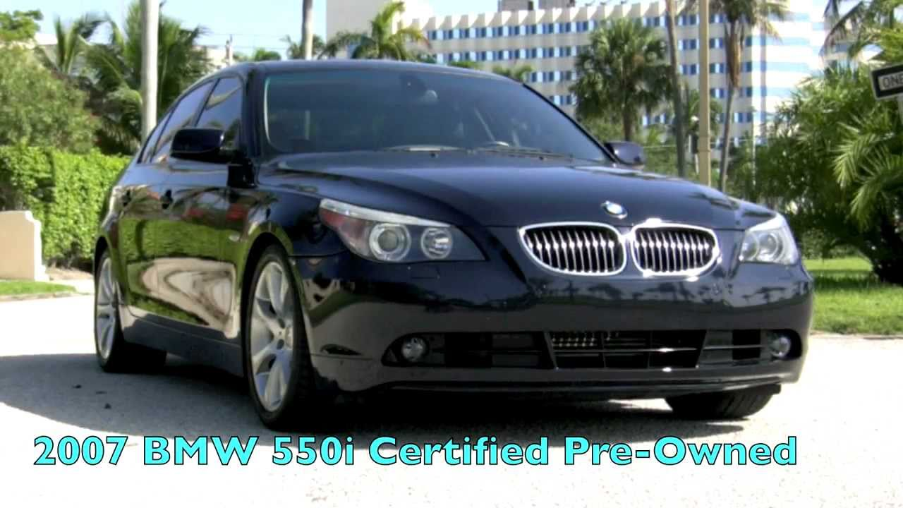 2007 Bmw 550i Smg Monaco Blue Metallic A2693 Youtube