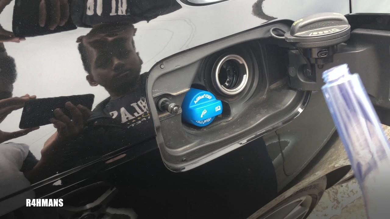 redex diesel on audi a4 b9 (with adblue tank) - youtube