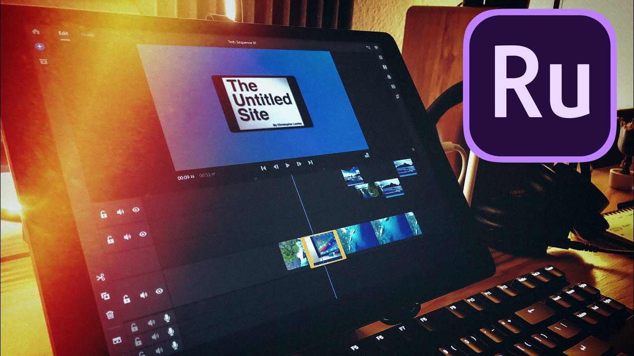 Thoughts on Adobe Premiere Rush on the iPad! Is this the New Video Editor  for YouTubers?