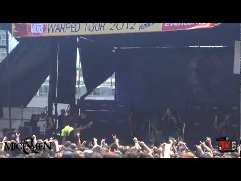 Of Mice & Men - Live FULL SET! Vans Warped Tour 2012 in San Francisco, CA