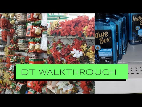 NEW DOLLAR TREE WALKTHROUGH|COME TO DOLLAR TREE WITH ME!