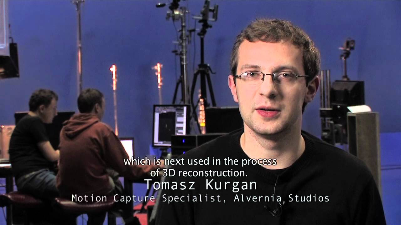 MAKING OF THE WITCHER 2: MOTION CAPTURE - ALVERNIA STUDIOS