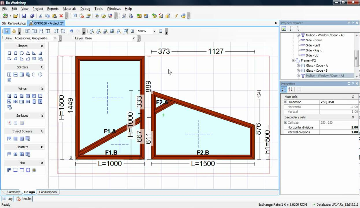 Door Design Software intelligent door and drawer software Ra Workshop 32 Mullion Alignment Window Door Software