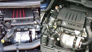 هناك فرق بين محرك بيجو وسيتروين - différence entre moteur Peugeot & Citroen 1.6 hdi