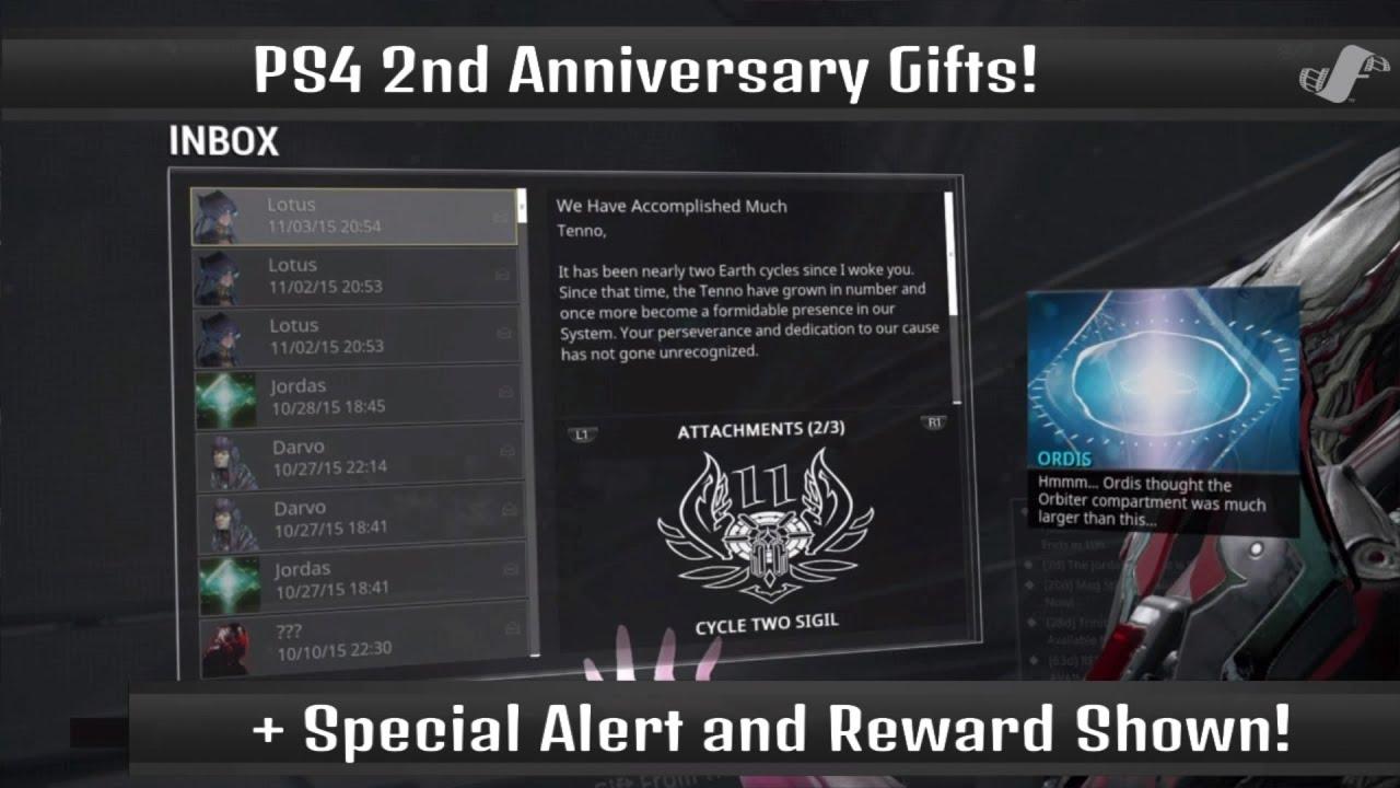 Warframe twitch link rewards