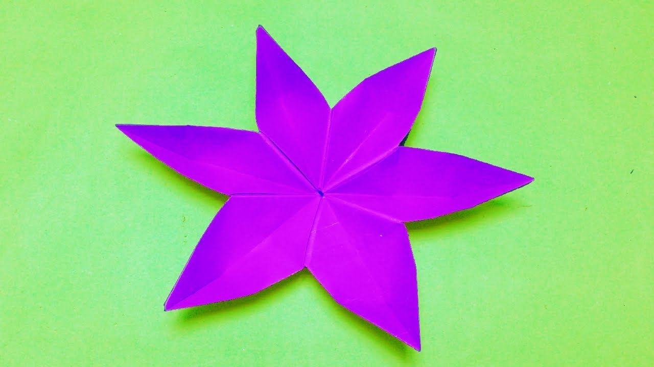 How To Make Origami Flowers For Easy Paper Flower Making