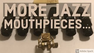 More Jazz Mouthpieces: Selmer Vs. Jody Jazz Vs. Yanagisawa