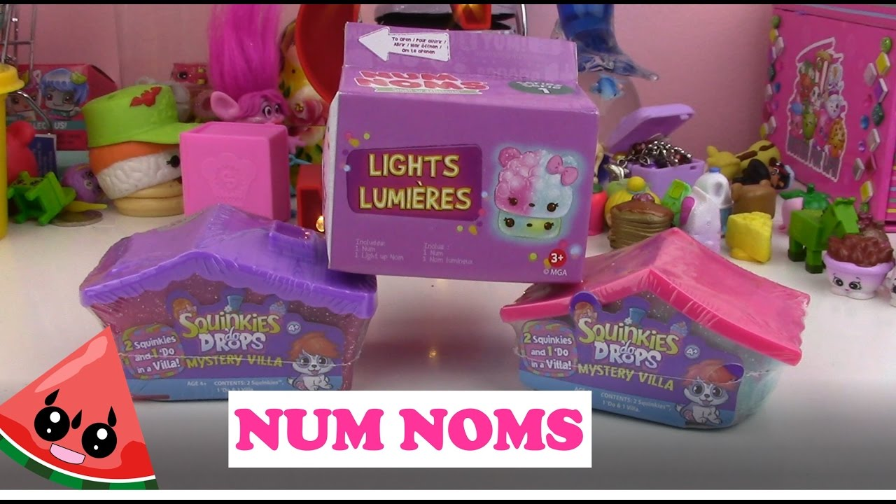 Sswc Num Noms And Squinkies Do Drops Opening Youtube