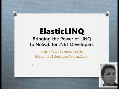 ElasticLINQ: Bringing the Power of LINQ to NoSQL for .NET Developers