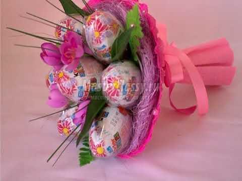 букеты из конфет своими руками для пограничников
