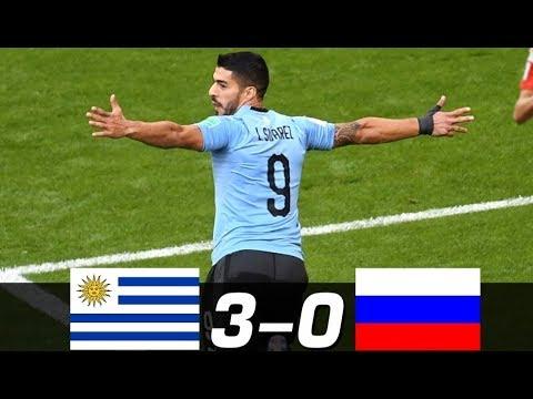 Uruguay Vs Russia ( 3 - 0 ) FIFA World Cup