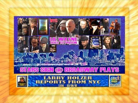 LARRY HOLZER on BROADWAY: STARS SIGN L556