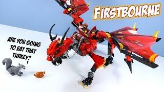 LEGO Ninjago Firstbourne Dragon Speed Build Review