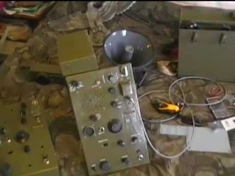 Making a replica SCR-694 BC 1306 Radio part 1 of 2
