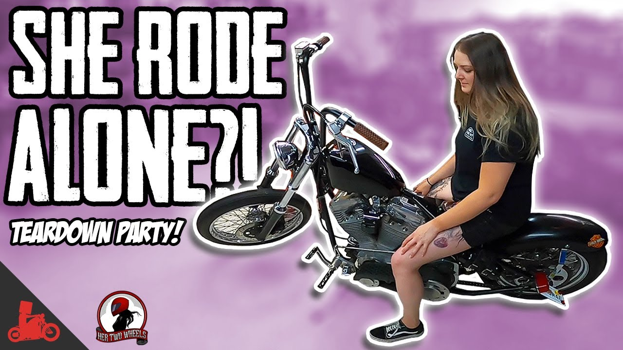 She rode ALONE to Florida from Ohio?! 😳 (Her Two Wheels)