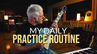 My Daily Practice Rouтine for Guitar