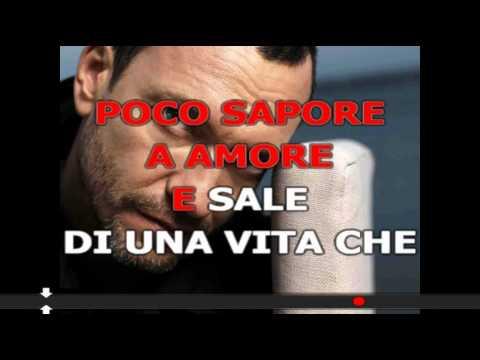 Biagio Antonacci - Pazzo di Lei - Karaoke Instrumental Lyrics Choirs