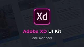 Coming Soon | Adobe XD UI Kit Trailer