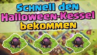Wie bekommt man schnell den Halloween Kessel?? ✖ Let's Talk ✖ Clash of Clans deutsch