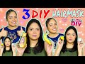 3 DIY Homemade Hair Mask For Frizzy and Dry hair   Get Shiny Hair And Faster Growth   Anku Sharma