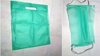 How to make mask at home for corona Hindi | Make Face Mask from cloth | How to make a Face Mask