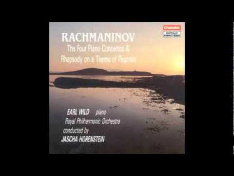 Rachmaninoff: Rhapsody on a Theme of Paganini (Wild/Horenstein/RPO)